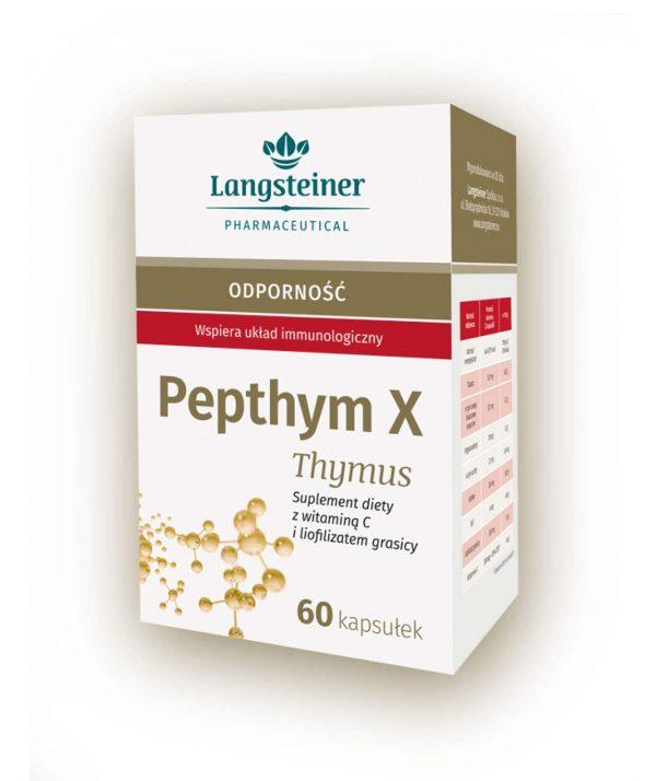 Pepthym X Thymus - bogaty w wyciąg z grasicy i witaminę C